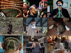 Tahun 2020 dalam Gambar: Mulai dari COVID-19 hingga Misi ke Bulan