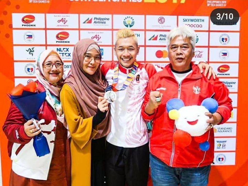 Sosok Dani Wisnu, Orang Tua dan Guru Silat Hanifan Yudani