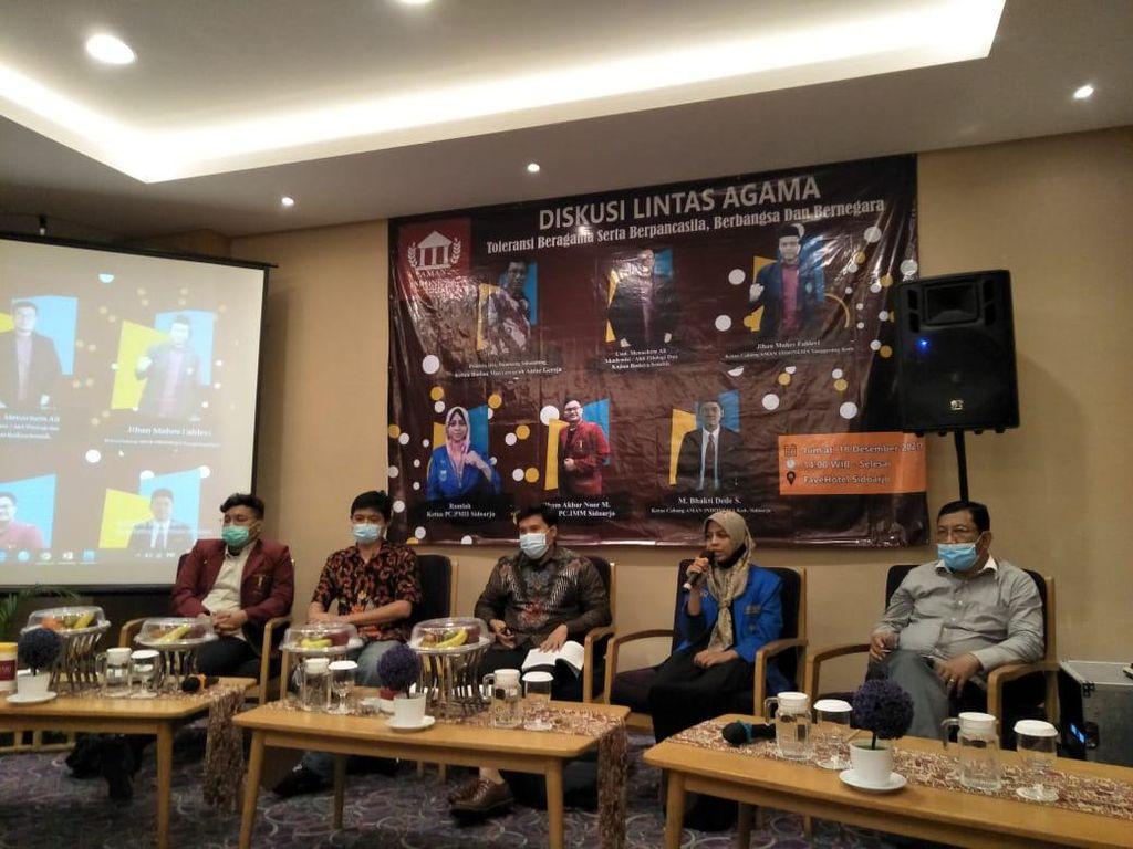 Diskusi Lintas Agama Cegah Intoleransi di Sidoarjo
