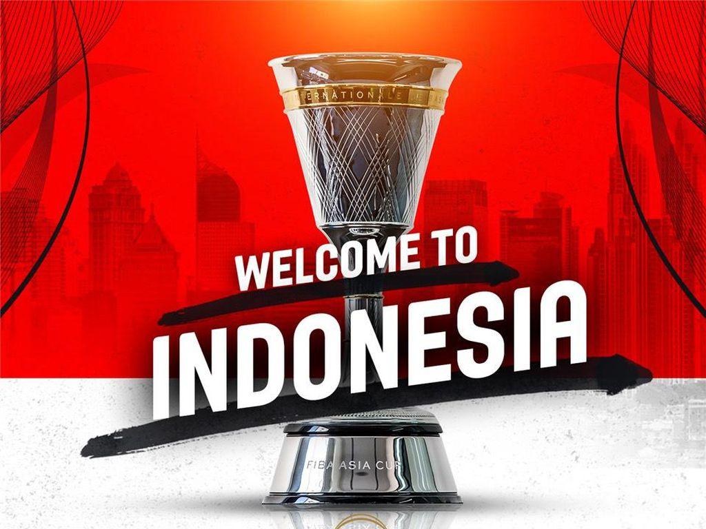 Indonesia Jadi Tuan Rumah FIBA Asia Cup 2021