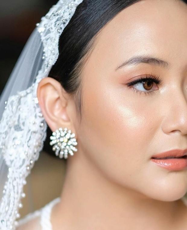 Makeup flawless Dinar Amanda di Hari Pernikahan