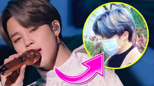 Warna rambut Jimin BTS