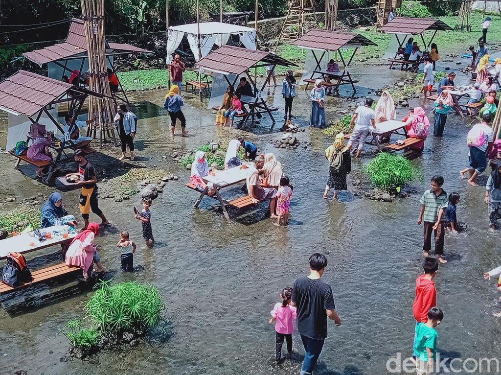 Ketjeh Resto, Dulu Kebun Selada Air Kini Destinasi Ciamik