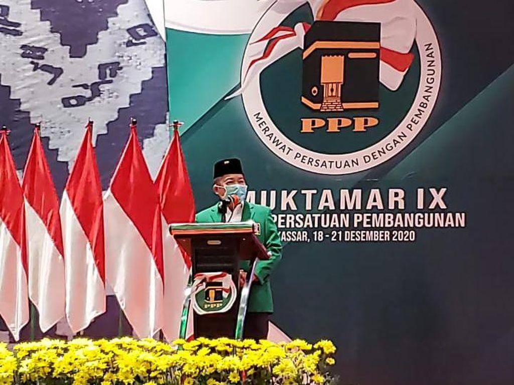 Jadi Ketum Lagi, Suharso Yakin PPP Lolos Parlemen Threshold 2024