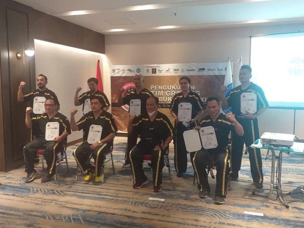 Kick Boxing Indonesia Bentuk Tim Grading