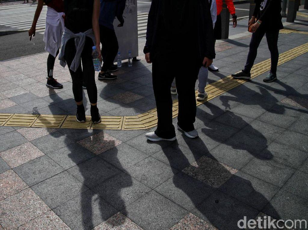 Kualitas Udara Jakarta Tidak Sehat Pagi Ini