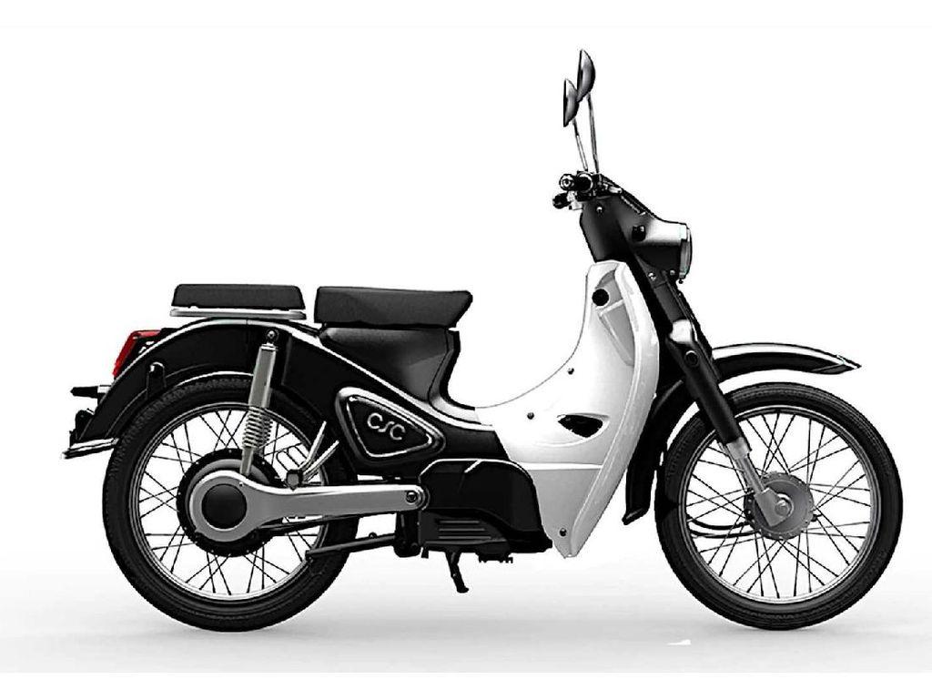 Motor Listrik China, Mirip Honda Super Cub