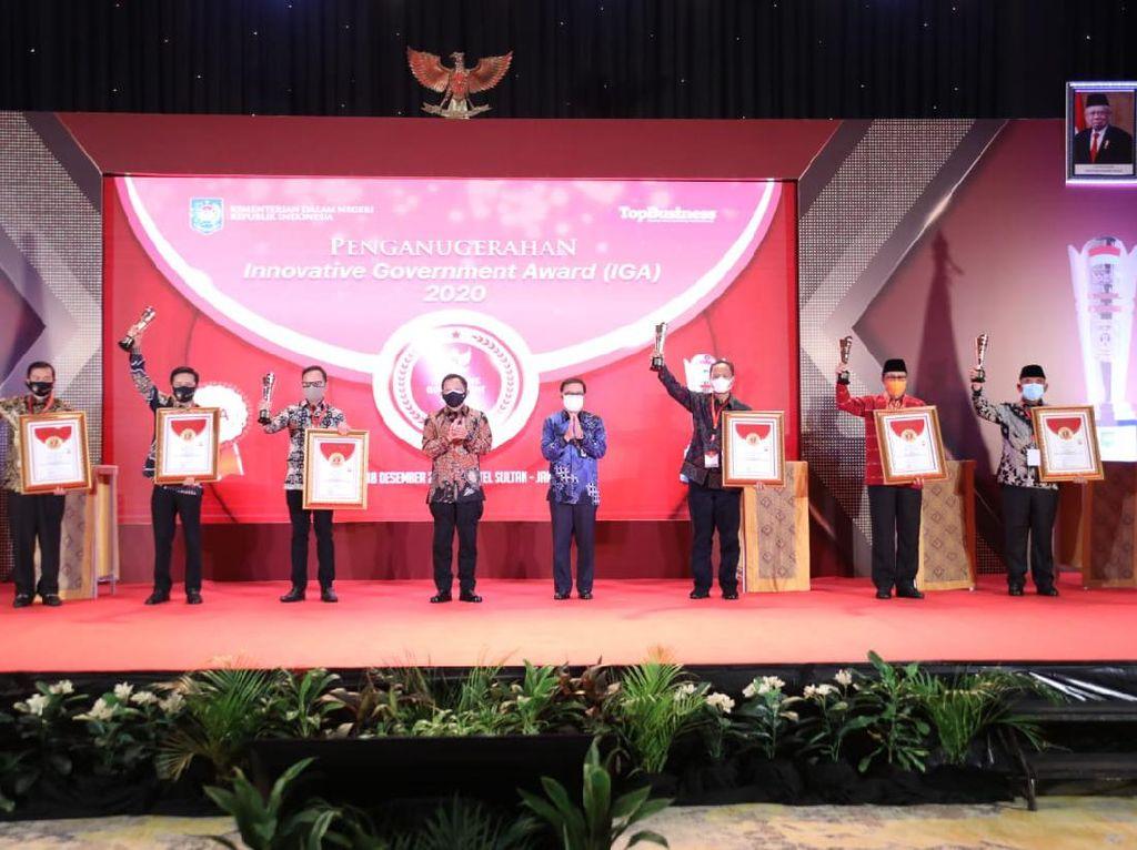 Kota Bogor Raih Penghargaan Pemda Terinovatif 2020 dari Kemendagri