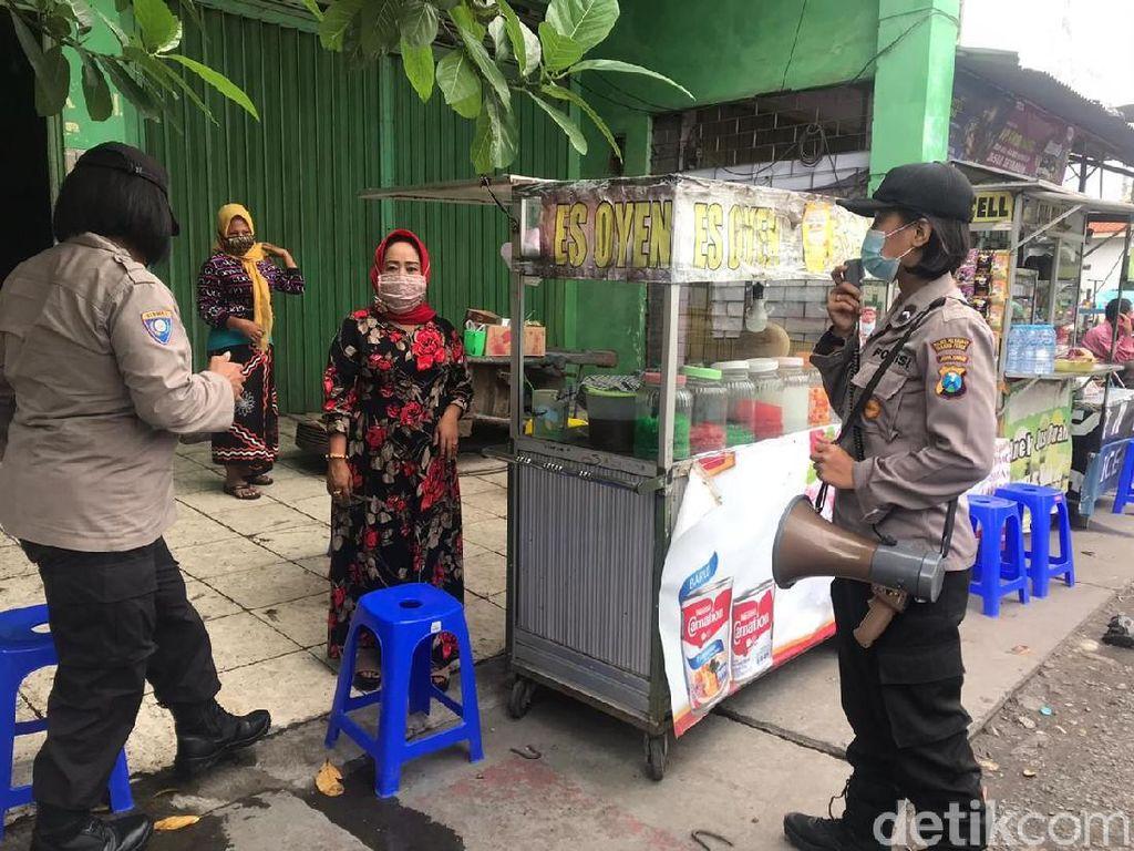 Tim Polwan di Surabaya Siap Gugah Kesadaran Warga soal Protokol Kesehatan