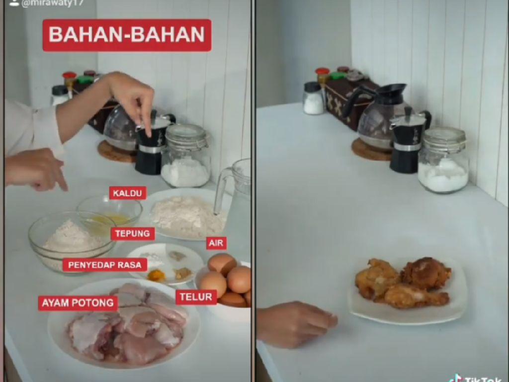 Heboh Resep Ayam Goreng Campur Vitamin, Ini Kata Ahli Gizi