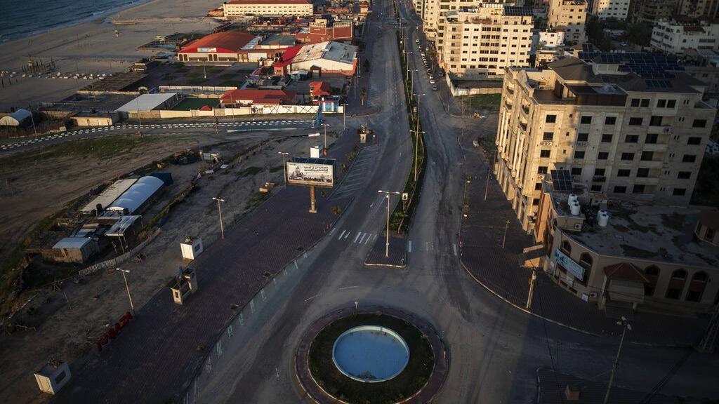 Sepinya Jalur Gaza Saat Kembali Lockdown