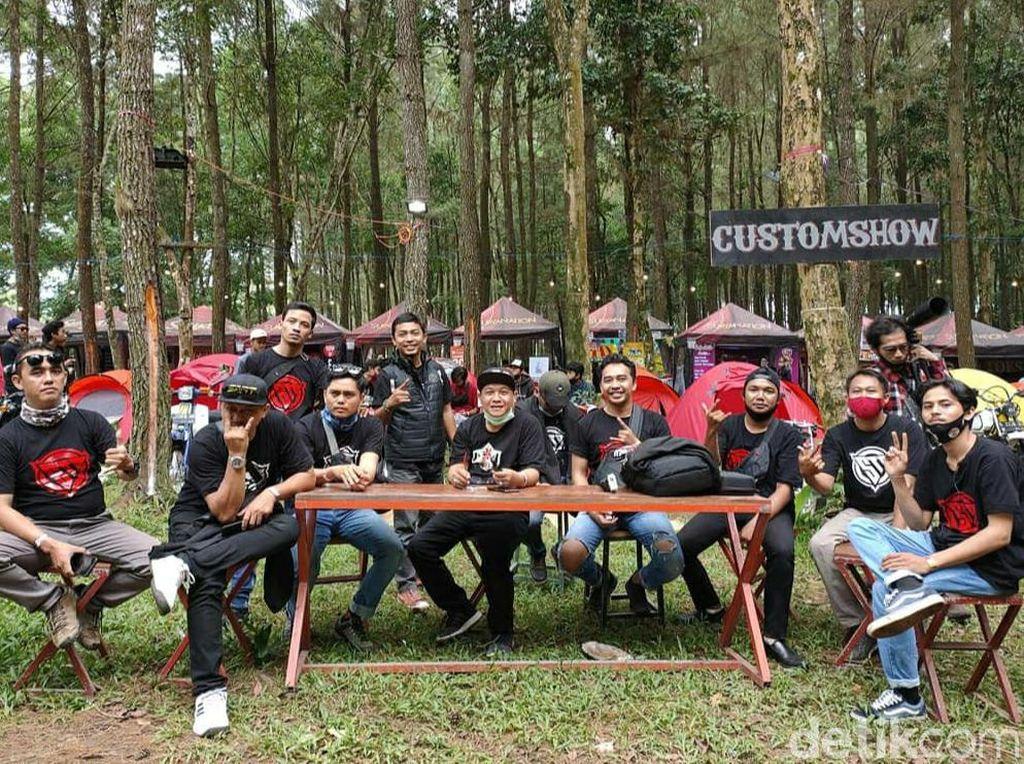 Bikers Modifikasi Gelar Touring Kenalkan Destinasi Wisata Banyuwangi