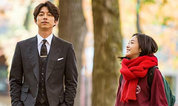 Drama Korea Goblin yang dibintangi oleh Gong Yoo dan Kim Go Eun.