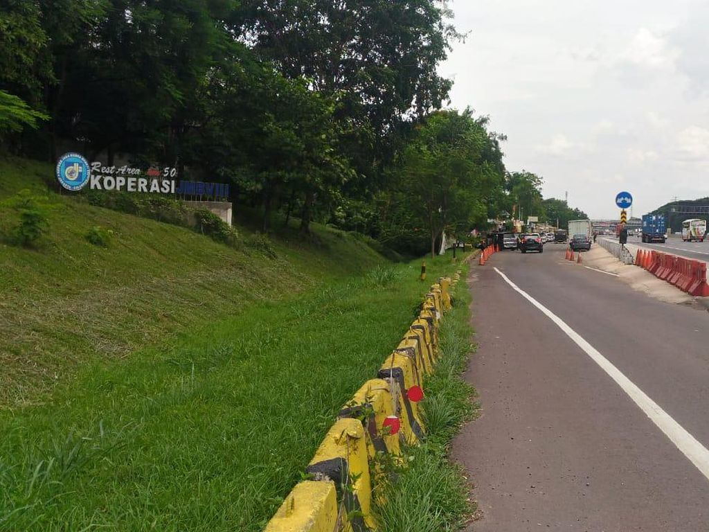 Jasa Marga Tutup Rest Area Km 50 Tol Japek Mulai Hari Ini