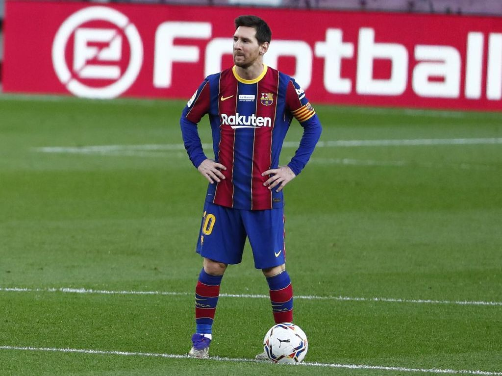 Cetak 644 Gol, Messi Pecahkan Rekor Pele yang Bertahan 46 Tahun