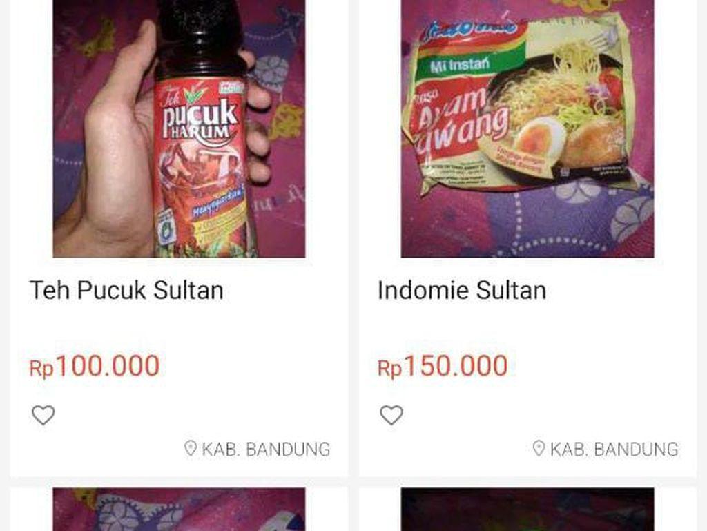 Mie Instan Sultan Harga Rp 150 Ribu hingga Efek Samping Minum Teh