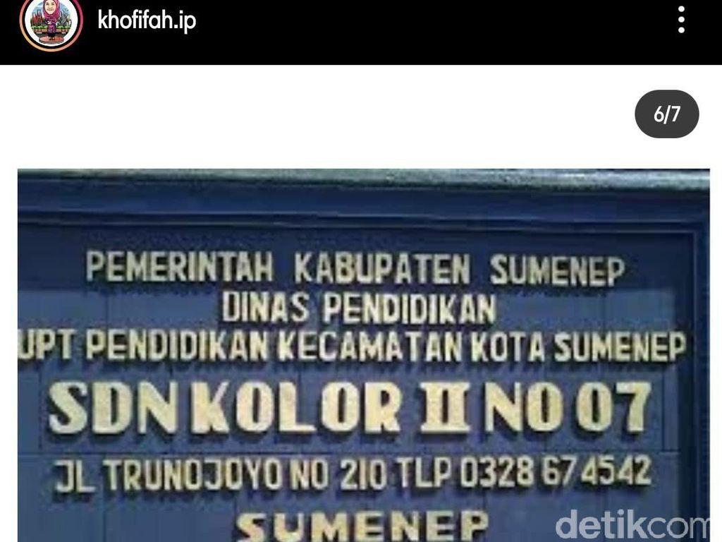 Ada Kolor dan Montok, Nama-nama Sekolah di Jawa Timur Ini Bikin Ngakak