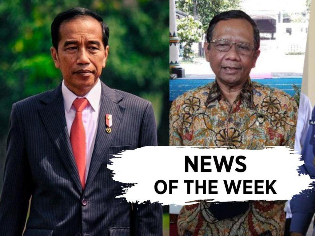 News of The Week: Jokowi Gratiskan Vaksin, Polemik RK-Mahfud