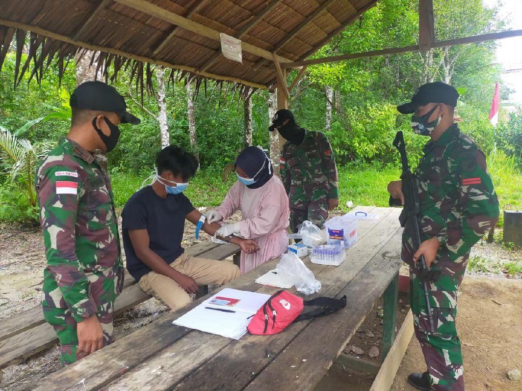 TNI Temukan Pekerja Migran Gunakan Jalur Tikus di Sambas Kalbar