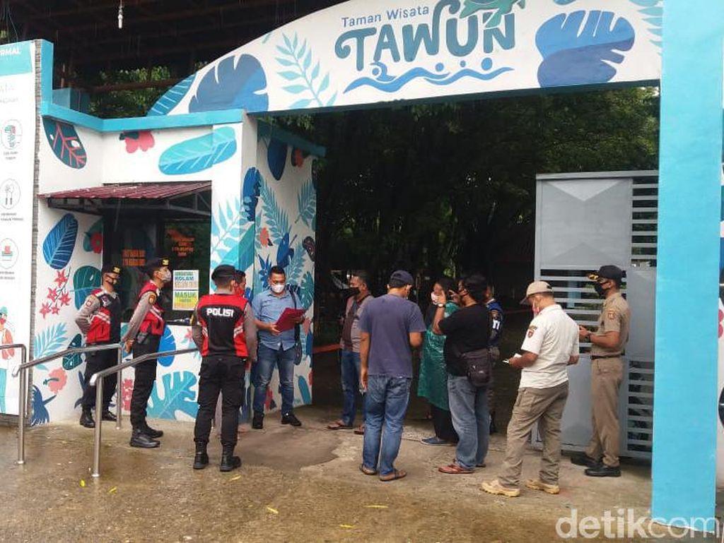 Polisi Ngawi Tak Segan Tutup Paksa Tempat Wisata Tak Terapkan Prokes