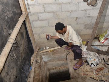 Penampakan Bunker Tempat Persembunyian Teroris Upik Lawanga