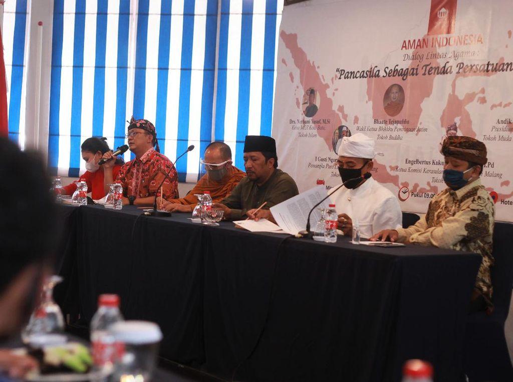 Saat Tokoh Lintas Agama Berdiskusi Soal Menjaga Persatuan Bangsa