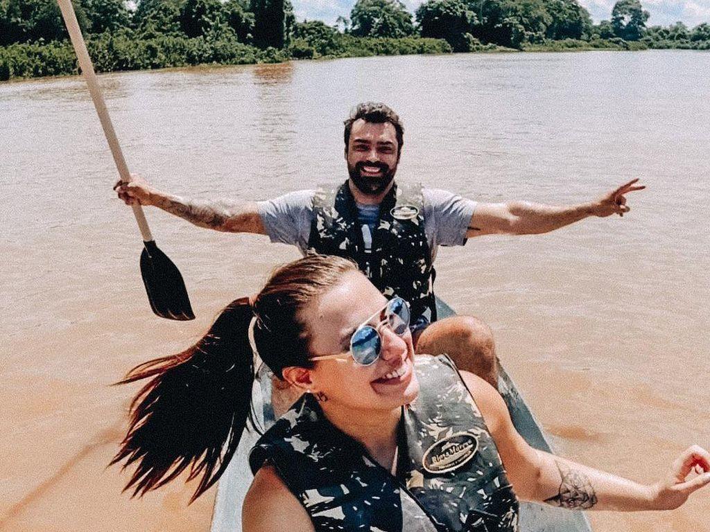 Cerita Selebgram Ngedate di Sungai Bareng Pacar, Berakhir Digigit Piranha