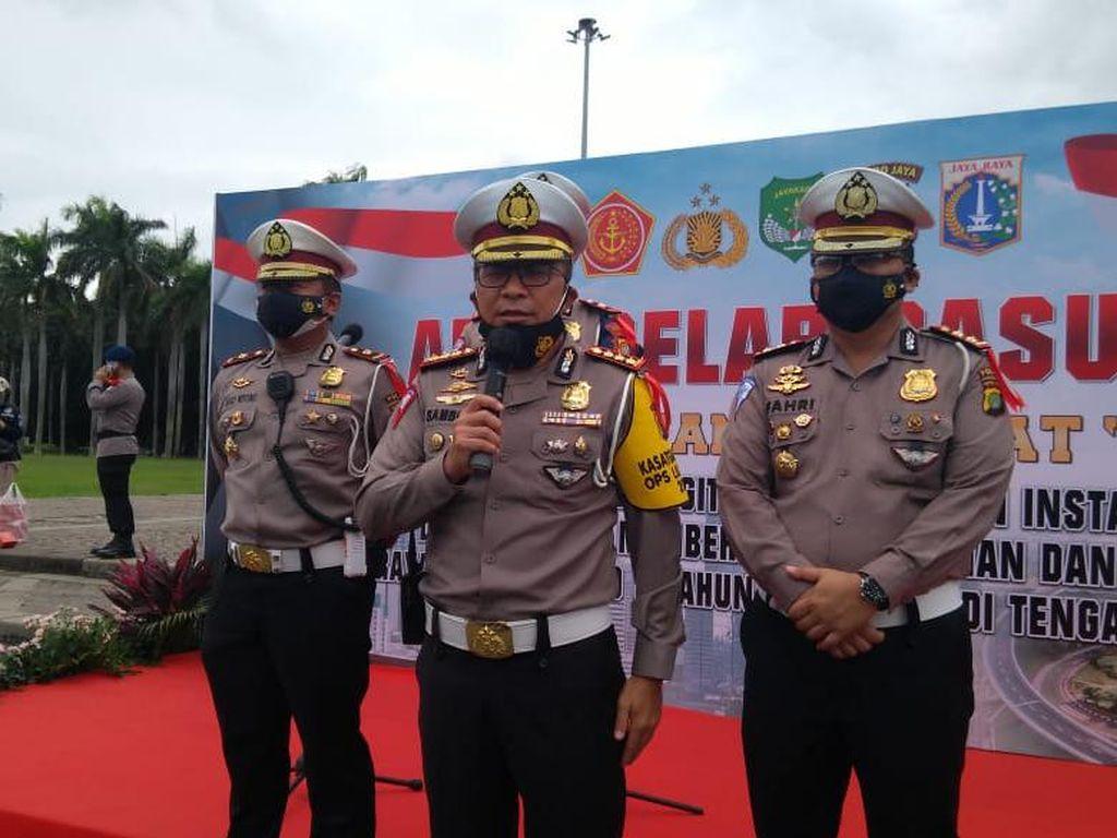 Polisi Bakal Bubarkan Kerumunan Warga Rayakan Pesta Tahun Baru di Jakarta