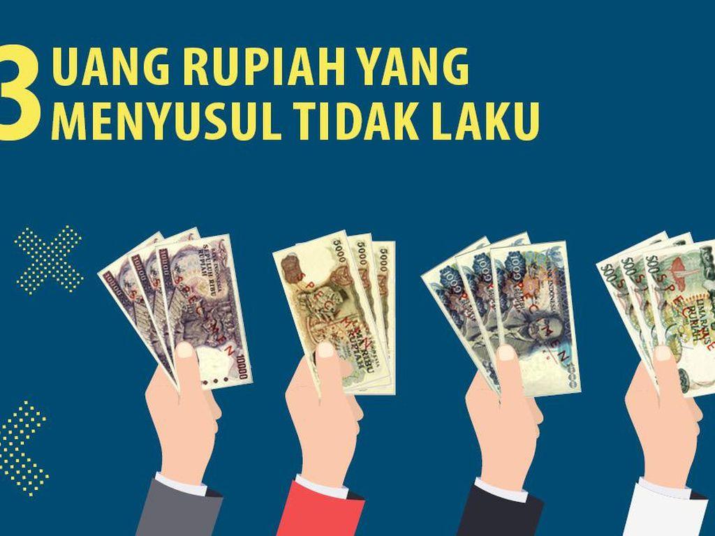 4 Uang Rupiah yang Menyusul Tidak Laku