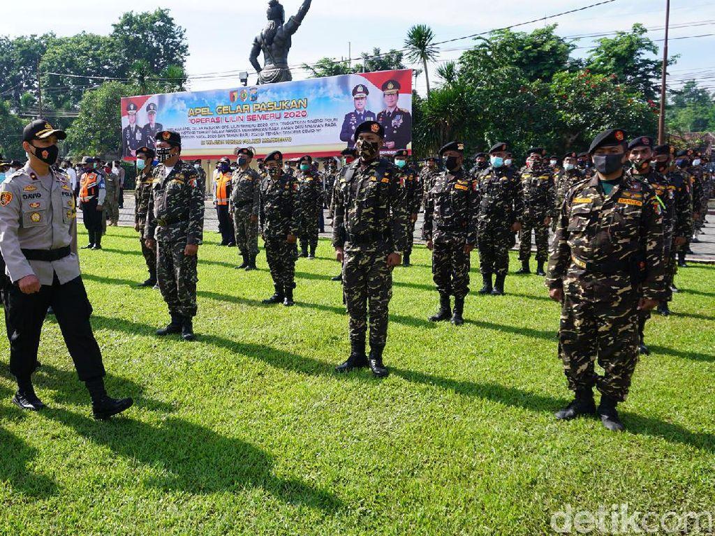 Pengamanan Nataru di Mojokerto Dibantu Ratusan Banser