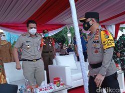 TNI-Polri Apel Pengamanan Natal-Tahun Baru di Monas, Wagub DKI Hadir