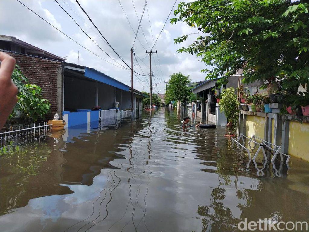 5 Fakta Banjir di Makassar Bikin Ngungsi Hampir 2.000 Keluarga