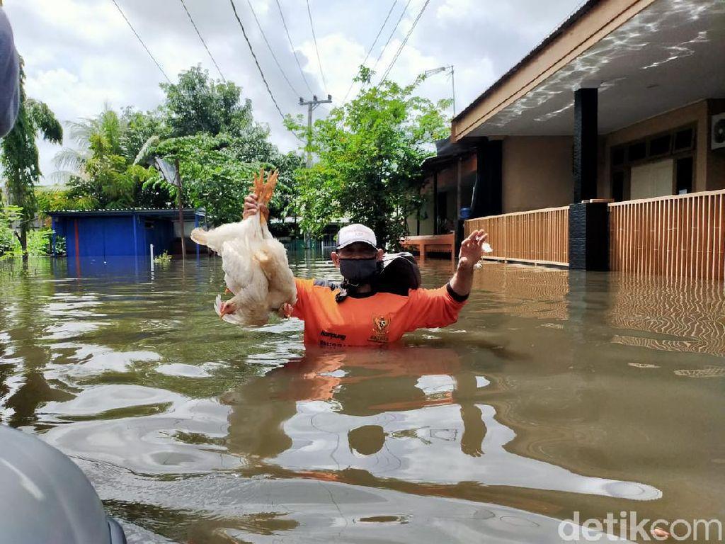 Banjir Makassar Terparah di Perumnas Antang, Ini Dugaan Penyebabnya