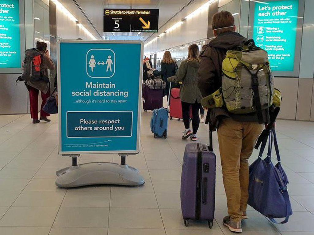 Meski Ada Mutasi Corona, Uni Eropa Minta Cabut Larangan Terbang ke Inggris