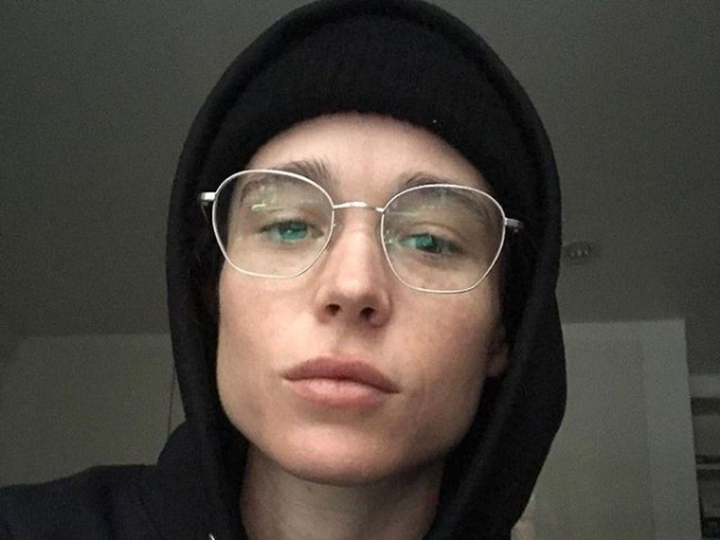 Elliot Page Ucapkan Terima Kasih karena Dukung Sebagai Transgender