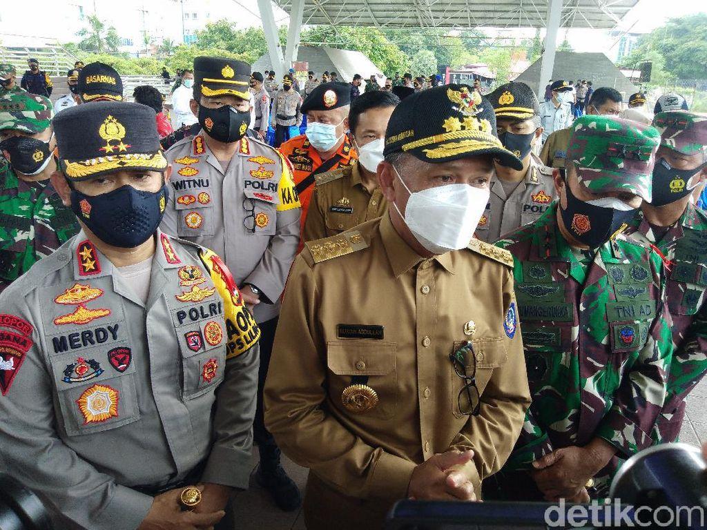Gubernur Sulsel Minta TNI-Polri Tindak Tegas Pelanggar Prokes Saat Nataru