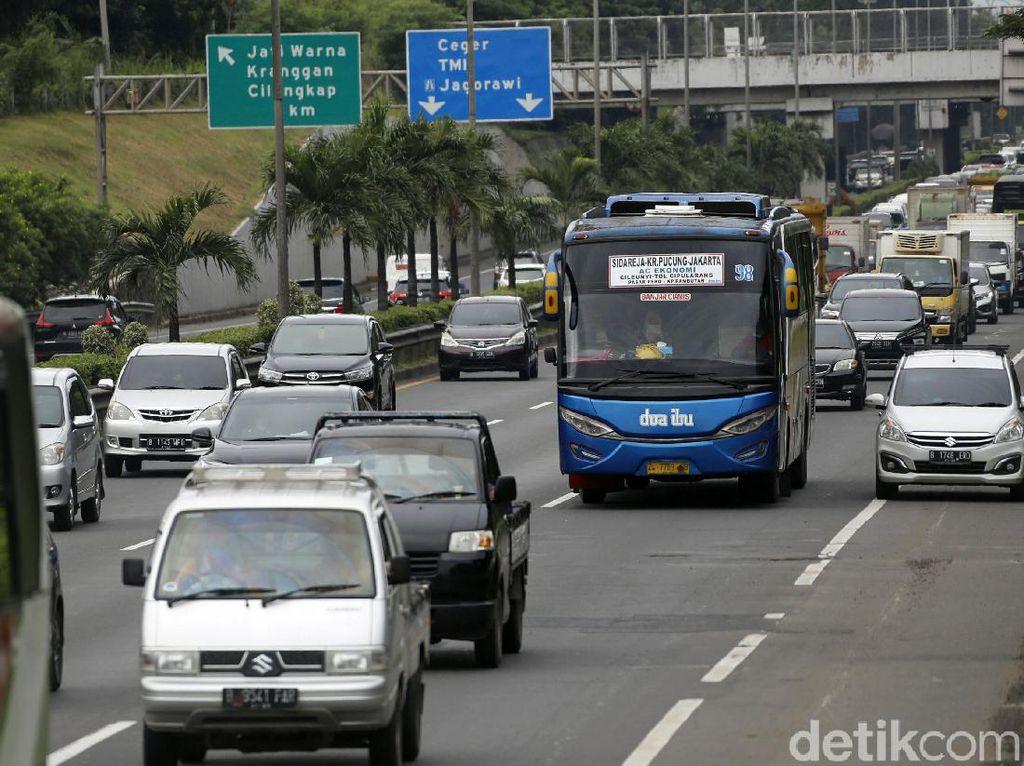 Sudah 22 Ribu Kendaraan Masuk Jakarta Lewat GT Cikampek
