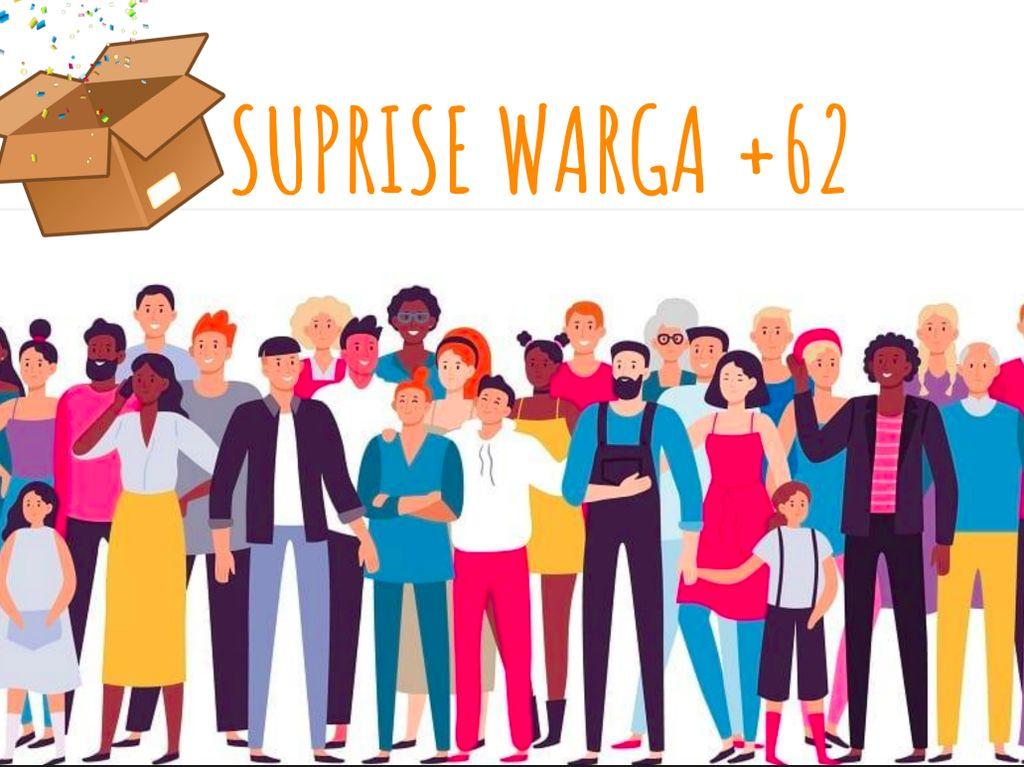 Nonton Warga +62 Trans7 Bisa Dapat Surprise Box Senilai Total Rp 25 Juta