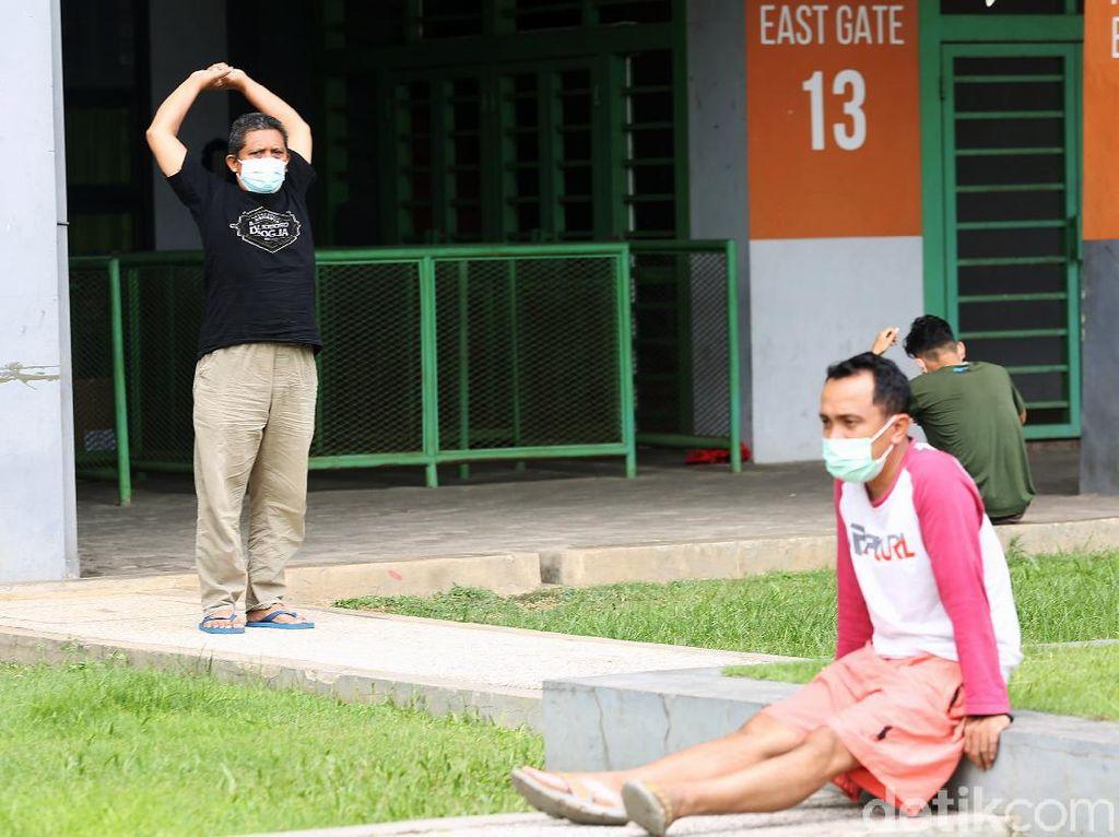 Mengintip Kegiatan Pasien OTG COVID-19 di Bekasi