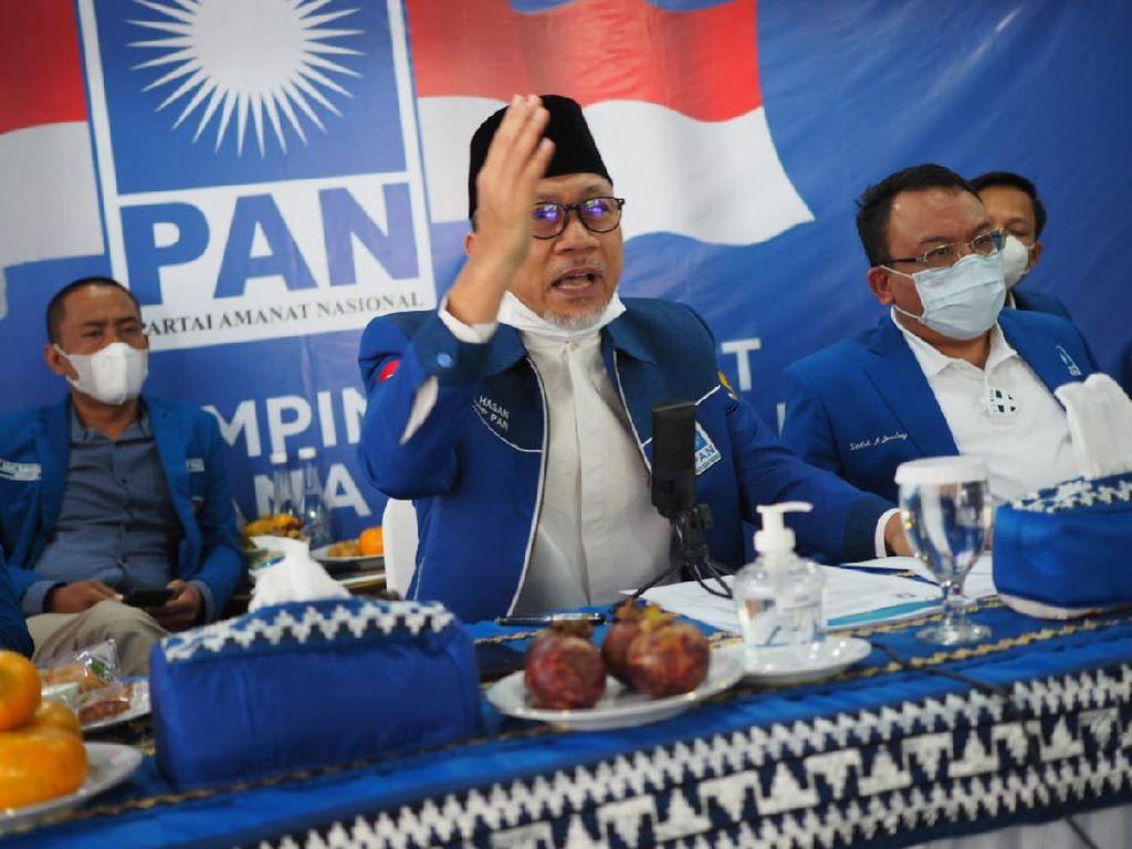 Zulkifli Hasan Pimpin Muswil PAN Kalimatan Timur