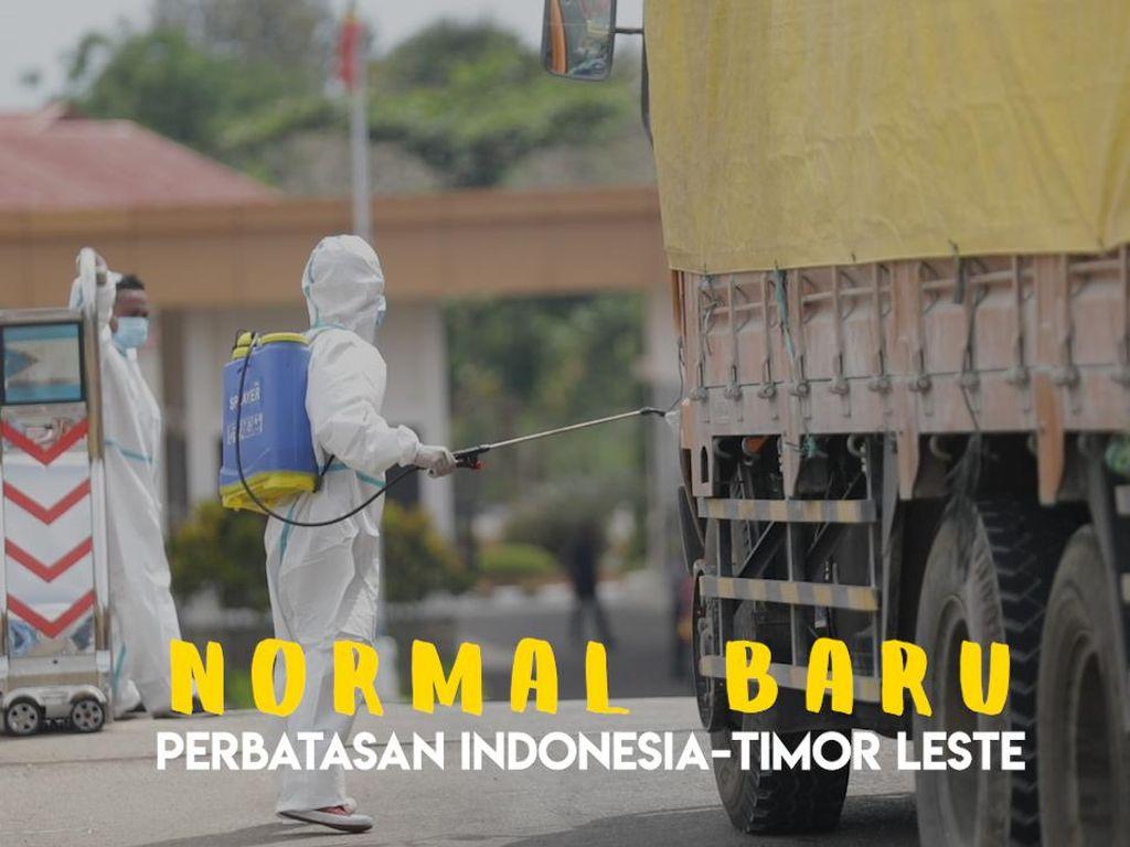 Melihat Kesiapan PLBN Motamasin Lawan Pandemi Covid-19