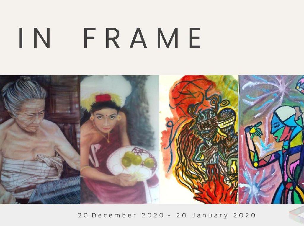 Pameran Virtual In Frame Boyong Karya Dua Seniman Indonesia ke Ranah Global