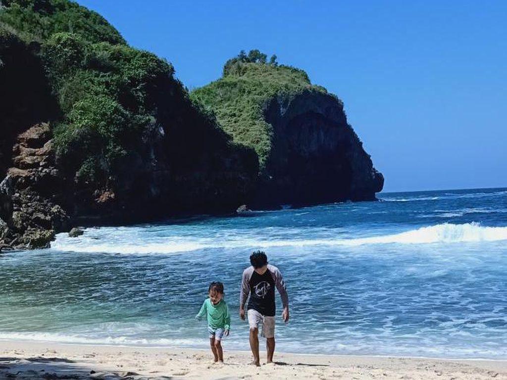 Pantai Krokoh, Secuil Surga di Ujung Timur Gunungkidul