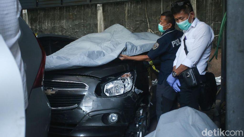 Penampakan Mobil Laskar FPI di Insiden KM 50