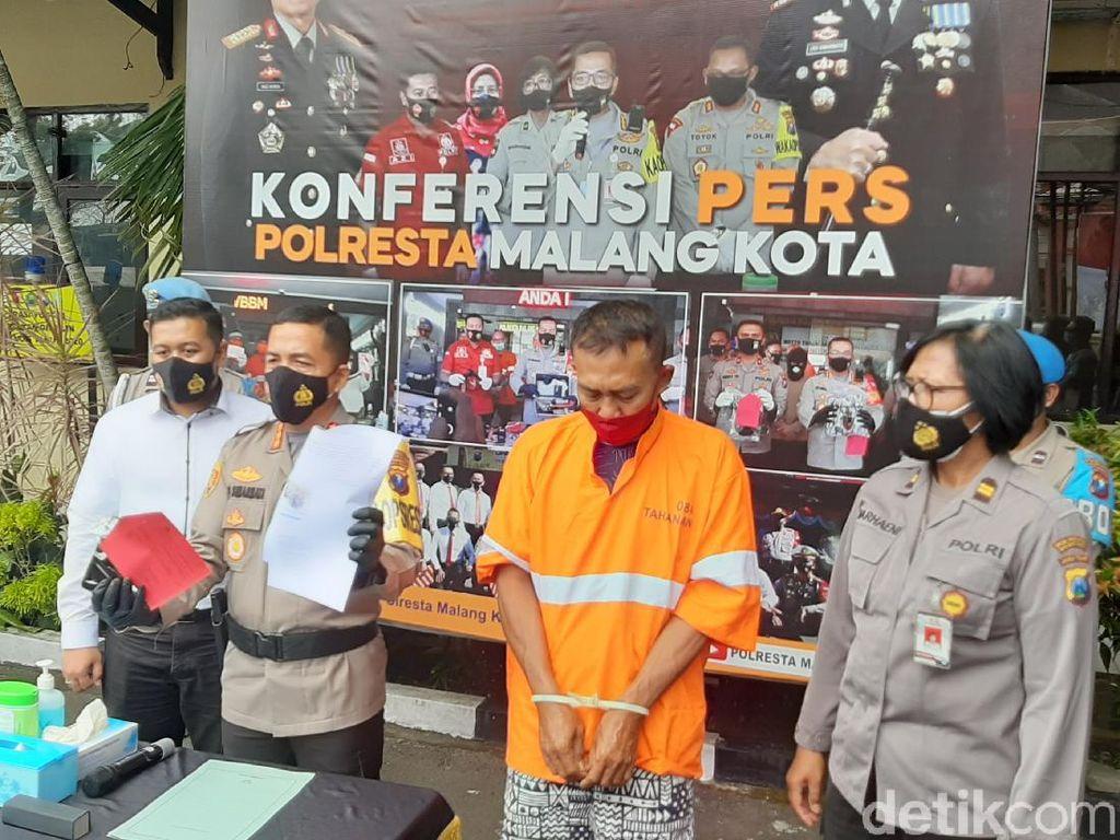 Penyebar Hoaks Larangan ke Kota Malang karena Zona Hitam Ditangkap di Lamongan