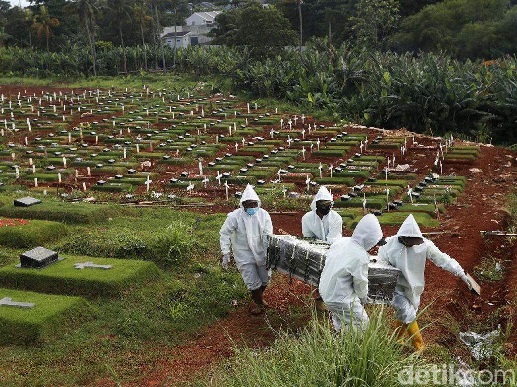 Pemprov: Kematian Akibat COVID-19 di DKI dalam 2 Pekan Mengkhawatirkan