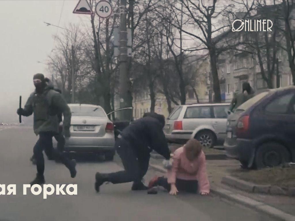 Ratusan Demonstran Anti-Pemerintah Belarusia Kalang Kabut Ditangkap Polisi