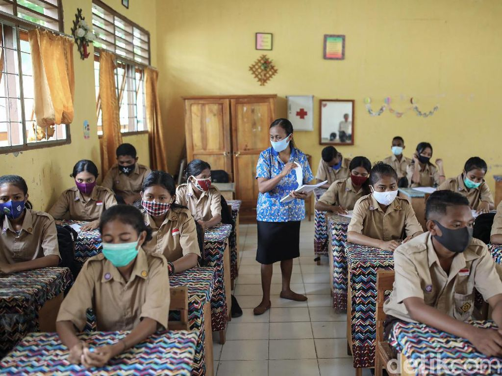Melongok Sekolah di Perbatasan RI dan Timor Leste Saat Pandemi