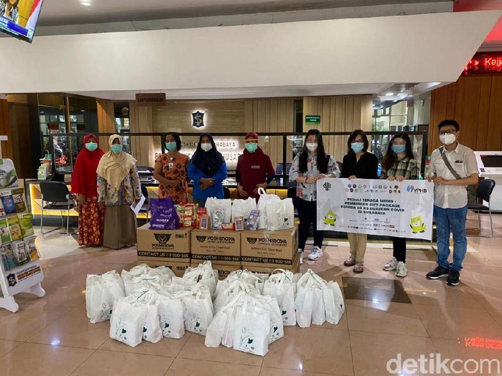Puluhan BEM di Surabaya Apresiasi Perjuangan Tenaga Medis Kasus COVID-19