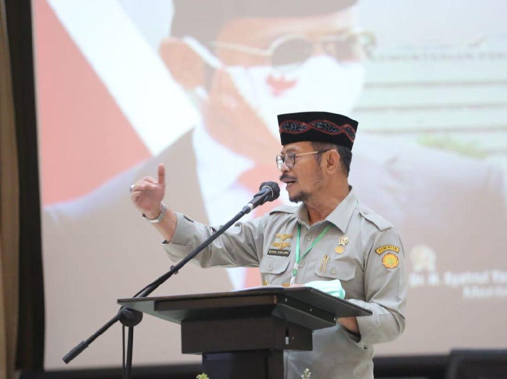 Rangkuman Pernyataan Mentan soal Ketahanan Pangan hingga Korupsi